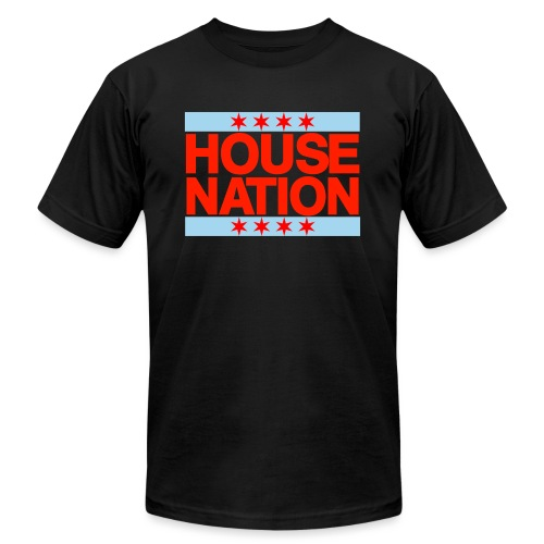 House Nation Tee - Unisex Jersey T-Shirt by Bella + Canvas