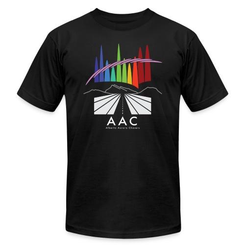 Alberta Aurora Chasers - Men's T-Shirt - Unisex Jersey T-Shirt by Bella + Canvas