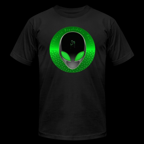 Psychedelic Alien Dolphin Green Cetacean Inspired - Unisex Jersey T-Shirt by Bella + Canvas