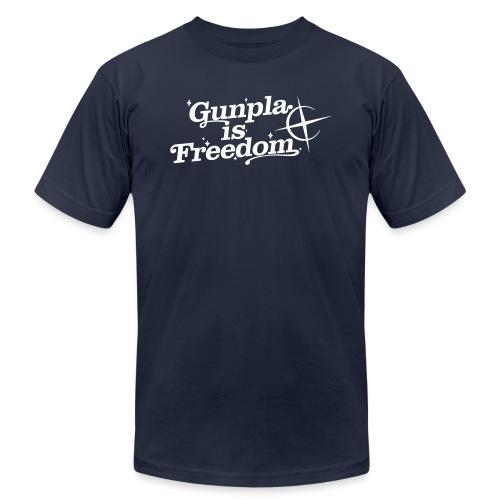 Freedom Men's T-shirt — Banshee Black - Unisex Jersey T-Shirt by Bella + Canvas