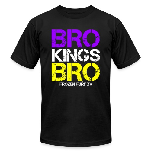 bro kings bro color1 - Unisex Jersey T-Shirt by Bella + Canvas