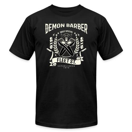 Demon Barber of Fleet Street - Unisex Jersey T-Shirt by Bella + Canvas
