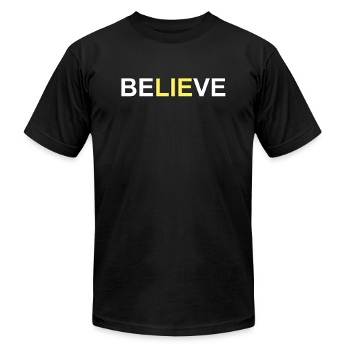 Believe - Unisex Jersey T-Shirt by Bella + Canvas