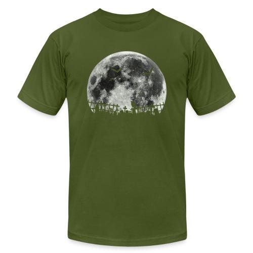 Scary Halloween moon - Men's Jersey T-Shirt