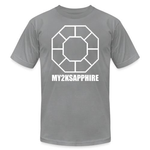 Unisex White Sapphire Hoodie - Unisex Jersey T-Shirt by Bella + Canvas