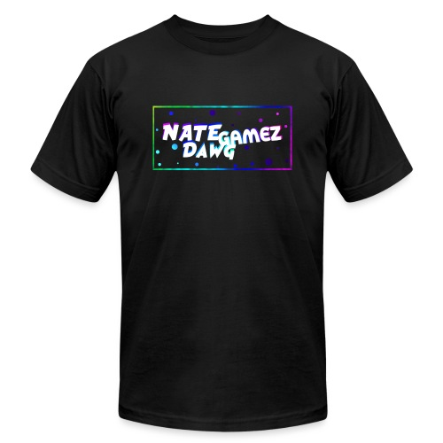 NateDawg Gamez Merch - Unisex Jersey T-Shirt by Bella + Canvas