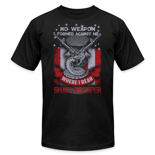 No weapon formed against me shall prosper - Men's  Jersey T-Shirt