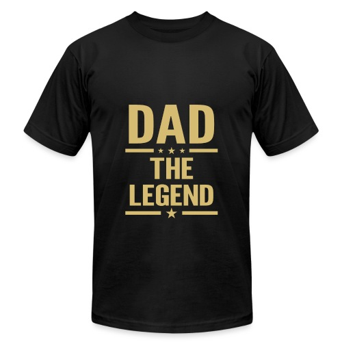 dad the legend - Unisex Jersey T-Shirt by Bella + Canvas