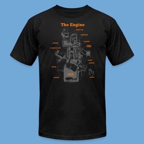 Engine Diagram - Men's  Jersey T-Shirt