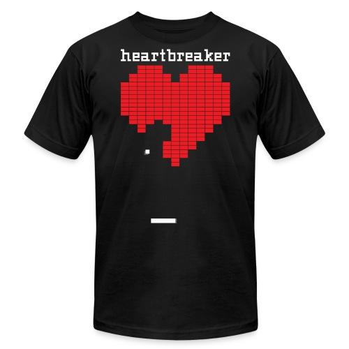 Heartbreaker Valentine's Day Game Valentine Heart - Unisex Jersey T-Shirt by Bella + Canvas