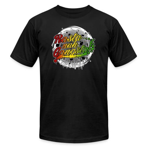 Rasta nuh Gangsta - Unisex Jersey T-Shirt by Bella + Canvas