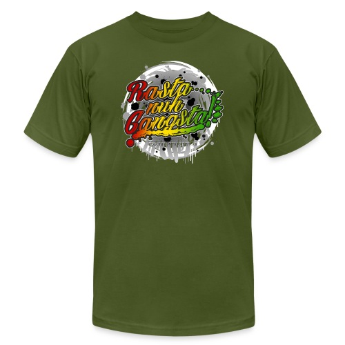 Rasta nuh Gangsta - Unisex Jersey T-Shirt by Bella + Canvas