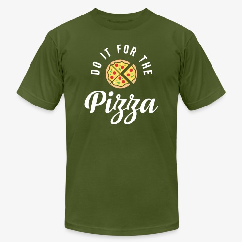 Do It For The Pizza - Men's Jersey T-Shirt