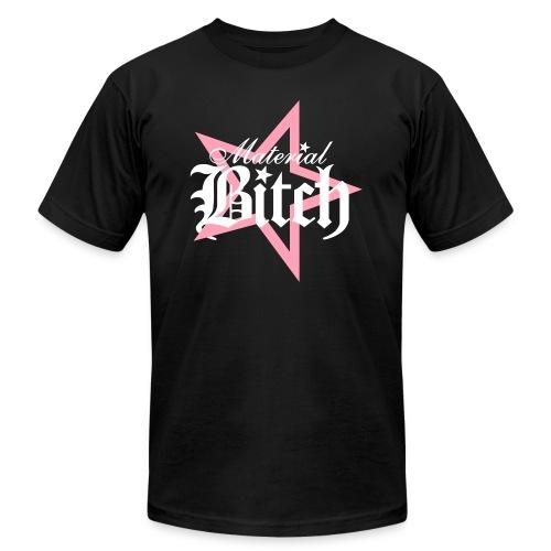 Material Bitch Logo - Men's  Jersey T-Shirt