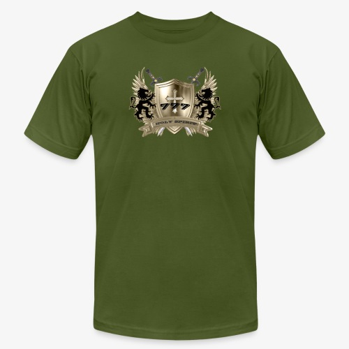HOLY SPIRIT GOLD SHIELD - Unisex Jersey T-Shirt by Bella + Canvas