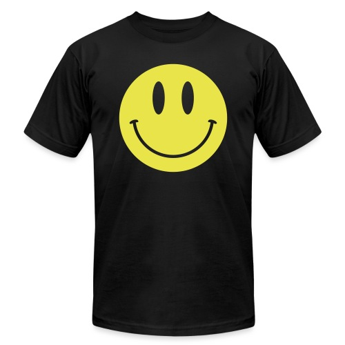 Smiley - Unisex Jersey T-Shirt by Bella + Canvas