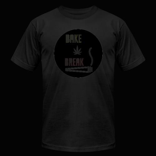 Bake Break Logo Cutout - Men's  Jersey T-Shirt