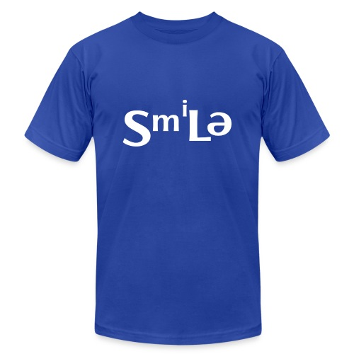Smile Abstract Design - Unisex Jersey T-Shirt by Bella + Canvas