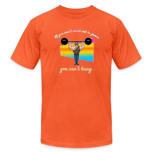 Jean Jockey - Unisex Jersey T-Shirt by Bella + Canvas