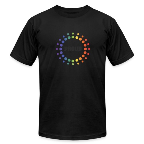 Proud Circles - Unisex Jersey T-Shirt by Bella + Canvas