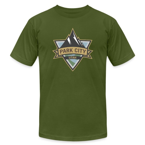 Park City, Utah - Unisex Jersey T-Shirt by Bella + Canvas