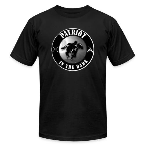 Patriot In The Dark Channel G2 Dark Logo - Unisex Jersey T-Shirt by Bella + Canvas