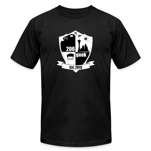 206geek podcast - Unisex Jersey T-Shirt by Bella + Canvas