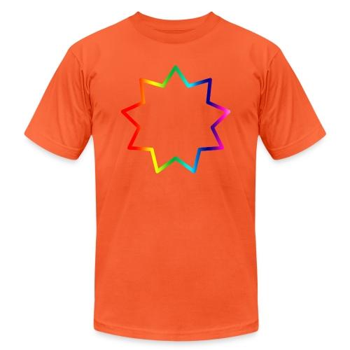 Baha´i rainbow - Unisex Jersey T-Shirt by Bella + Canvas