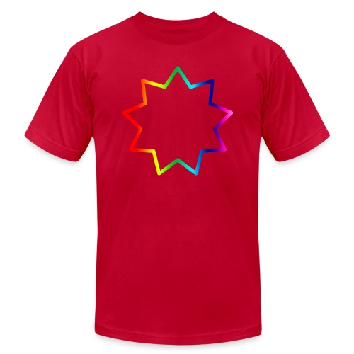Baha´i rainbow - Unisex Jersey T-Shirt by Bella + Canvas