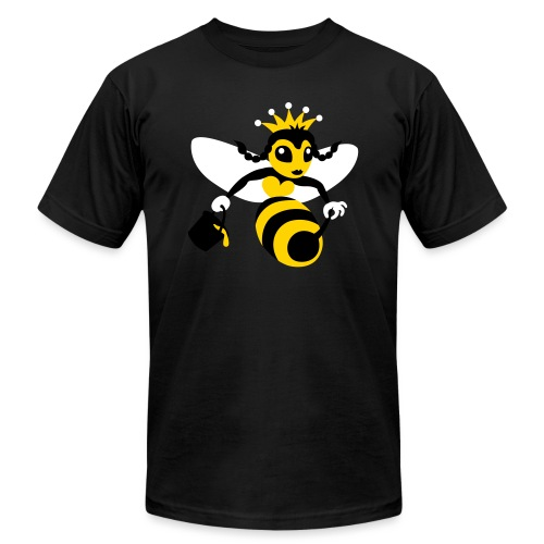 Queen Bee - Unisex Jersey T-Shirt by Bella + Canvas