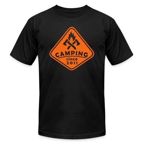 Campfire 2011 - Unisex Jersey T-Shirt by Bella + Canvas