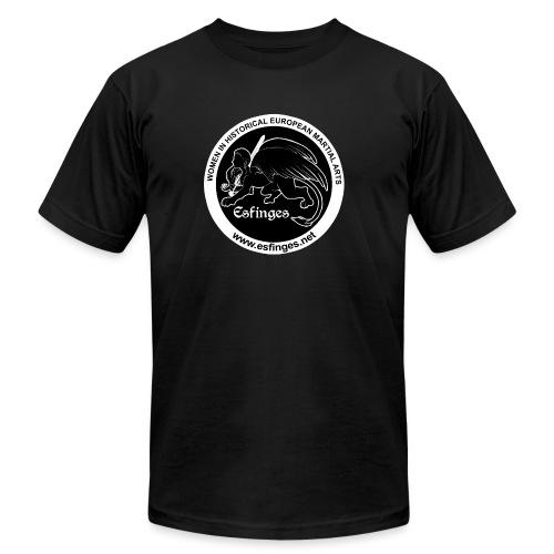 Esfinges Logo Black - Unisex Jersey T-Shirt by Bella + Canvas