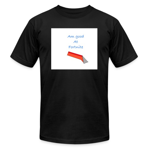 am good at you know what's on the shirt - Men's  Jersey T-Shirt