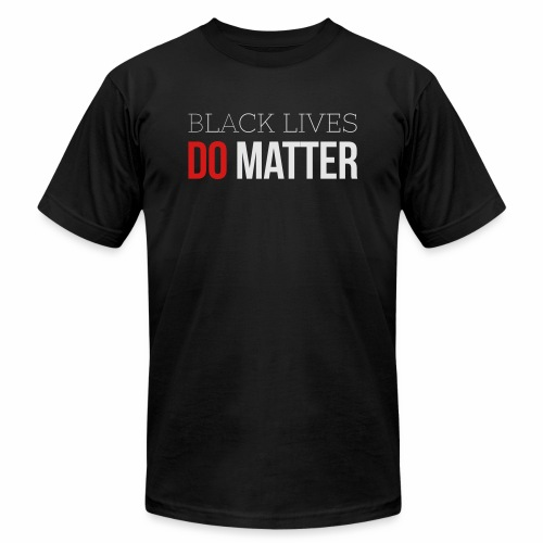 BLACK LIVES MATTER W&R - Unisex Jersey T-Shirt by Bella + Canvas