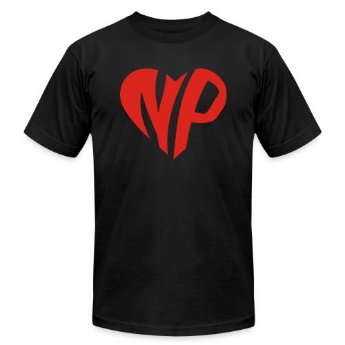 np heart - Unisex Jersey T-Shirt by Bella + Canvas