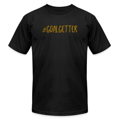 GoalGetter | Never Give Up - Unisex Jersey T-Shirt by Bella + Canvas