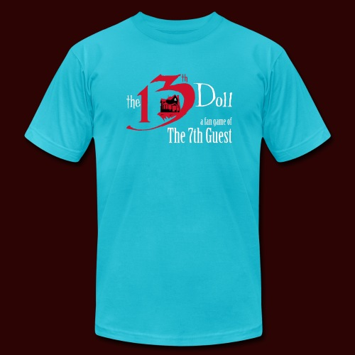 The 13th Doll Logo - Unisex Jersey T-Shirt by Bella + Canvas
