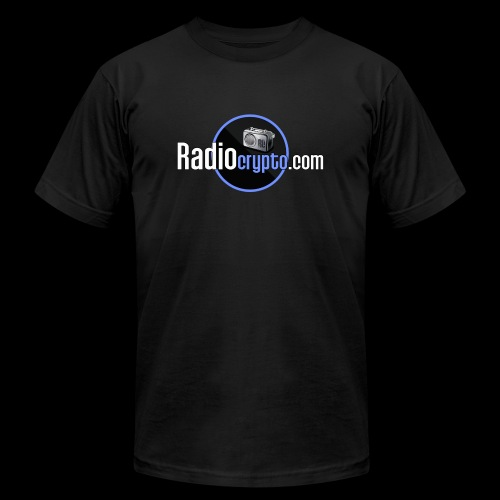 RadioCrypto Logo 1 - Unisex Jersey T-Shirt by Bella + Canvas