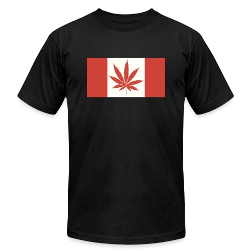 Canada 420 - Unisex Jersey T-Shirt by Bella + Canvas