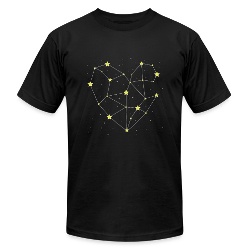 Heart in the Stars - Unisex Jersey T-Shirt by Bella + Canvas