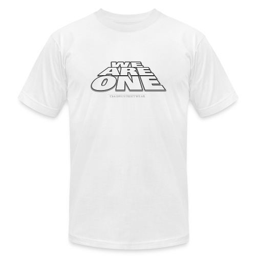 We are One 2 - Unisex Jersey T-Shirt by Bella + Canvas