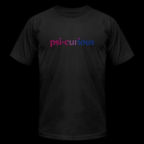 psicurious - Unisex Jersey T-Shirt by Bella + Canvas
