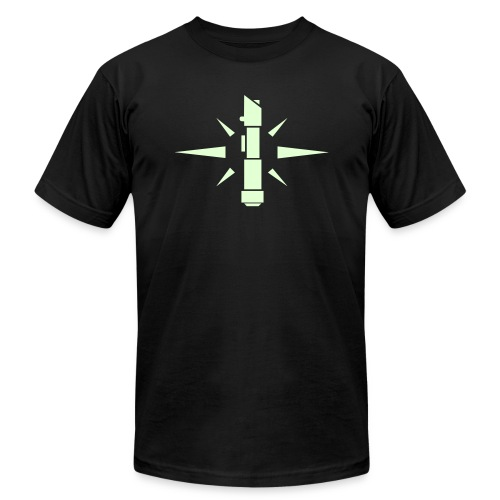 SWTOR Jedi Knight Class Logo 1-Color - Unisex Jersey T-Shirt by Bella + Canvas