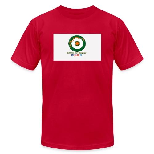 David Doyle Arts & Photography Logo - Men's Jersey T-Shirt