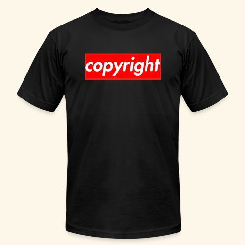 copyright - Men's  Jersey T-Shirt