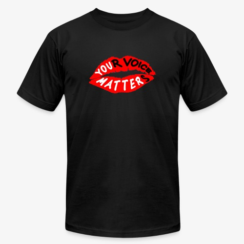 Your Voice Matters - Men's  Jersey T-Shirt