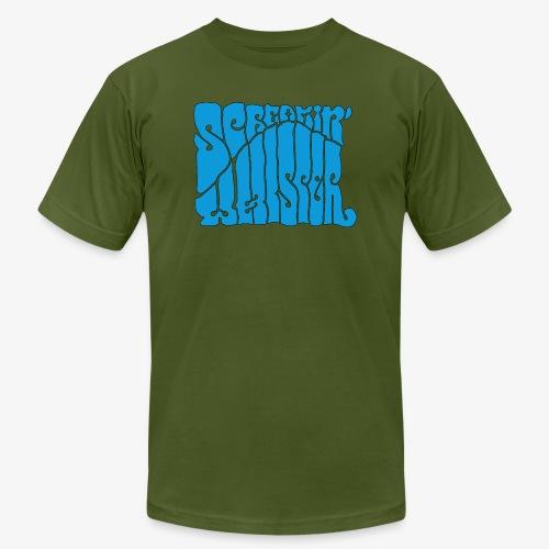Screamin' Whisper Retro Logo - Men's  Jersey T-Shirt