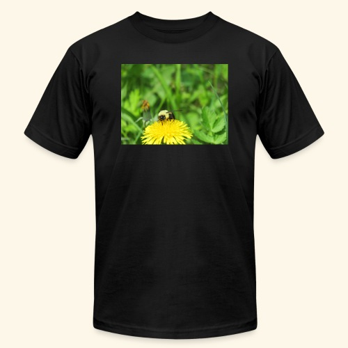 Dandelion Bee - Unisex Jersey T-Shirt by Bella + Canvas