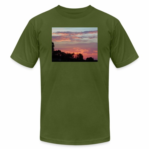 Sunset of Pastels - Men's  Jersey T-Shirt