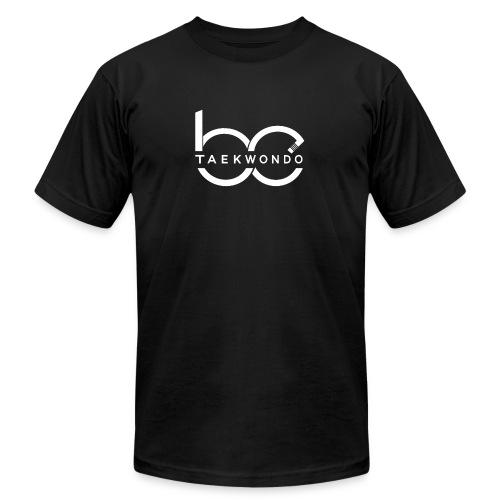 Logo emblem WHITE no bg - Unisex Jersey T-Shirt by Bella + Canvas